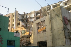 Demolition of buildings in China<br />