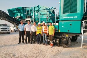 """<div class=""""bildtext"""">1Auslieferung des neuen Trakpactor&nbsp;320 an Al-Mohsen</div>"""
