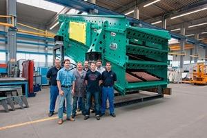 Größten Siebmaschine des Typs&nbsp; NIAGARA T-Class<sup>®</sup> • Largest NIAGARA T-Class<sup>®</sup> screening machine