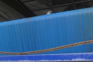 Für das GKD-Band vom Typ 1003 mit integrierter Verschleißanzeige spricht neben der effizienten Entwässerung die zuverlässige PAD-Naht