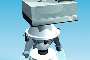 Rotationsprobenteiler PT100 von RETSCH • Rotating sample divider PT100 by RETSCH<br />