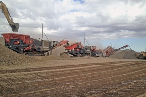 "<div class=""bildtext"">1	Die Anlagen in Kasachstan werden zur Produktion von Zuschlagstoffen für ein Straßenbauunternehmen eingesetzt<br />The units in Kazakhstan were to be used in order to produce aggregate for a road construction company</div>"