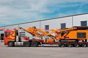 2 Perfekte Abmessungen und geringes Gewicht – daher leicht zu transportieren # Perfect dimensions and low weight, making the crusher easy to transport<br />