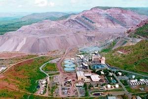 Argyle open-pit mine (Rio Tinto Diamonds)<br />