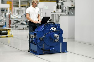 2 Voith TurboBelt 500&nbsp;TPXL comes with an integrated controller and offers condition monitoring as well as remote access<br />
