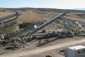 "<div class=""bildtext"">The three-stage crushing and screening plant with a modern dust suppression system will have a capacity of 500&nbsp;t/h</div>"