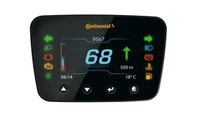 "<div class=""bildtext"">MultiViu Compact 4 is Continental's new primary instrumentation for construction machinery. The display is even legible under conditions of intense solar radiation thanks to its particularly bright screen</div>"