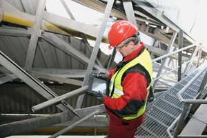 "<div class=""bildtext"">Conveyor belts and plants require constant maintenance and monitoring. On the world's leading trade fair bauma REMA TIP TOP will premiere its new monitoring system REMA M³</div>"