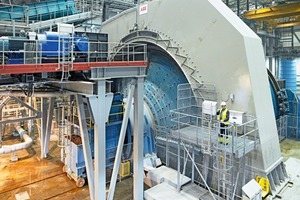 2 &nbsp;Getriebeloses Mühlenantriebssystem von 22,5 MW für Autogenmühle von 38 Fuß (11,58 m) im Bergwerk Boliden Aitik, Schweden • 22.5&nbsp;MW GMD system for a 38-foot autogenous (AG) grinding mill at Boliden Aitik mine, Sweden<br />