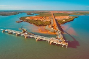 Anderson Port for iron ore (Fortescue)<br />