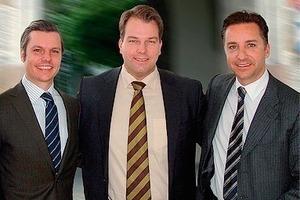 Von links/From left: Alexander Hartl, Andreas Malmberg, Dominik Hartl<br />