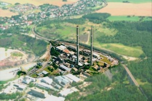 View of the company Muldenhütten Recycling und Umweltschutz GmbH in Freiberg/Saxony<br />