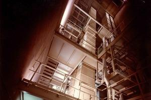 Hochleistungsbecherwerk für Düngemittelgranulat<br />High performance bucket elevator handling granular fertilizer
