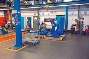 1 Service Center von Weir Minerals in Essen ● Essen service centre of Weir Minerals