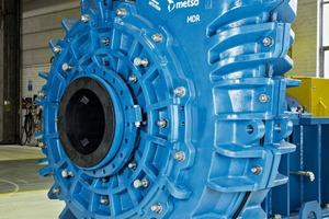 """<div class=""""bildtext"""">Mühlenaustragspumpe vom Typ MDR von Metso • Metso MDR Mill Discharge Pump </div>"""