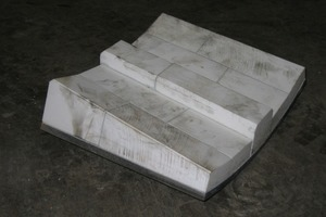 Conical ceramic grinding plate<br />