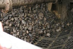 Einsatz des Modul-Siebkorbs im Kieswerk Eschenbach<br />