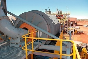 Ellendale beneficiation plant (GEM Diamonds)<br />