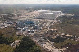 23 Talvivaara Bio-Minenbetrieb in Finnland # Talvivaara bio-mining operation in Finland<br />