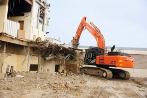 Hitachi ZX470LCH-5 in Aktion • Hitachi ZX470LCH-5 in action<br />
