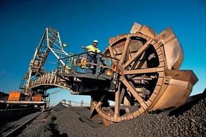 Kohleabbau in Südafrika • Coal mining in South Africa<br />