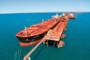 Iron ore shipping in Australia (Rio Tinto)<br />