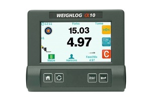 Mobiles Wiegesystem Weighlog Alpha&nbsp;10 • Mobile Weighlog Alpha&nbsp;10 weighing system<br />