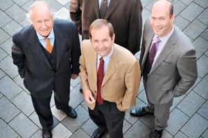 """<span class=""""bildunterschrift_hervorgehoben""""></span>Dr. Heinz Weiken (left), Raymund Risse (top), Franz-Bernd Köster (front), Christian Weiken (right)<br />"""