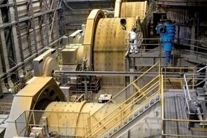 """<span class=""""bildunterschrift_hervorgehoben"""">18</span>Mahlanlagen der Thompson Creek Mine • Grinding systems at the Thompson Creek Mine<br />"""