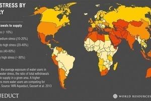 """<div class=""""bildtext"""">2Wasserknappheit nach Ländern • Water scarcity by countries</div>"""