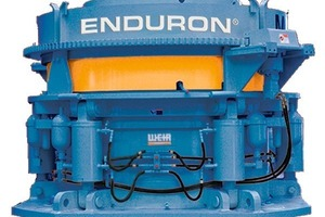Der Brecher Enduron<sup>®</sup> SP&nbsp;600 von Weir Minerals • The Enduron<sup>®</sup>&nbsp;SP crusher 600 from Weir Minerals