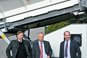 Thorsten Plew, Egon Plew und/and Ralph Phlippen (from left)