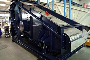 2 Schwingsieb der Spaleck GmbH & Co. KG # Vibrating screen from Spaleck GmbH & Co. KG
