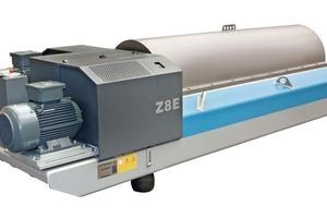 Dekanter Typ Z8E • Decanter centrifuge Z8E<br />
