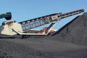 TS 624 Tracked Telescopic Conveyor at Fergusson Coal<br />