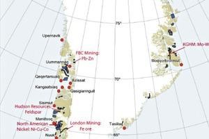 15 Minenprojekte auf Grönland