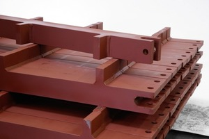 Scraper for heavy loads conveyor belt<br />