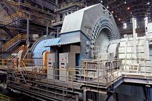 "<div class=""bildtext"">Mahlanlage der El Teniente Kupfermine, Chile • Grinding plant at El Teninete copper mine, Chile</div>"
