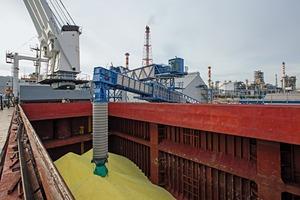 """<span class=""""bildunterschrift_hervorgehoben"""">2</span>Schiffsbeladung • Ship loading"""