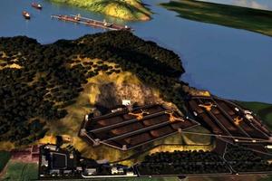 1 Neuer Hafenterminal von Porto Sudeste # New port terminal of Porto Sudeste<br />
