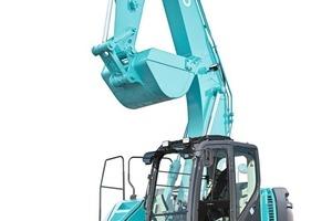 Kobelcos neuester Bagger • Kobelco's latest excavator