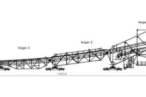 "<div class=""bildtext"">1 Overview of the new cross-conveyor system</div>"