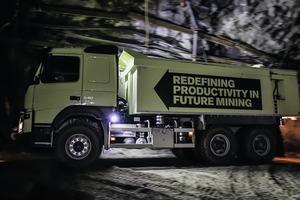 "<div class=""bildtext"">2 Volvo FMX trucks will be tested in regular operations in a Swedish underground&nbsp; mine</div>"
