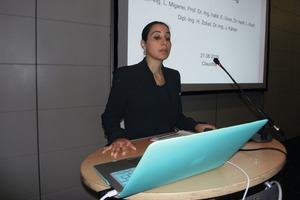 """<div class=""""bildtext"""">Dr.-Ing. Leila Miganei, Clausthal University of Technology </div>"""