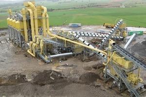 Filler removal and dedusting at a gravel works in Algeria<br />