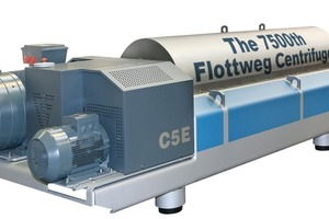 7 500<sup>th</sup> centrifuge, type C5E<br />