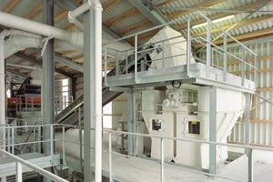 Cascade classifier at Gradenberg crushed stone plant<br />