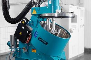 EIRICH mixer with torque motor