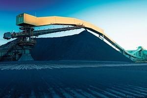 Kohlehandling Mt. Arthur, Australien • Coal handling at Mt. Arthur, Australia<br />