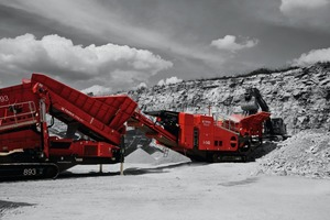 Terex<sup>®</sup>&nbsp;Finlay I-140 impact crusher<br />